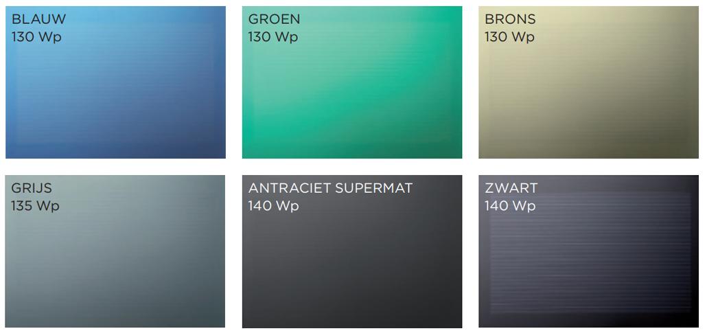 EnergyFaçade kleuren