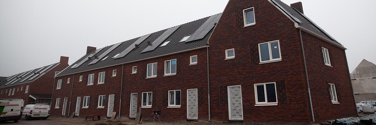 Nieuwbouwwoningen in Burgum