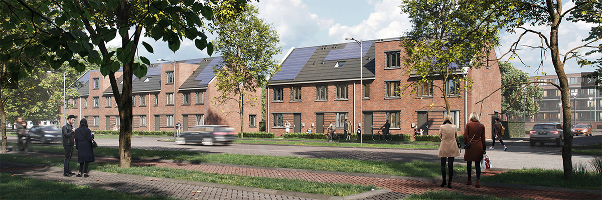 Nieuwbouwwoningen Rhijnhaeghe, Bunnik