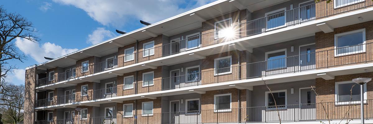 Renovatie 45 appartementen in Vaassen
