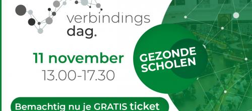 Logo Verbindingsdag Gezonde Scholen